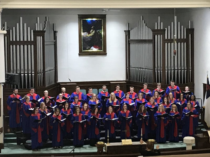 The choirs performed their repertoire last Monday evening for their spring concert. The choirs will travel to Ireland May 13-22 of 2019. Individuals interested in going should contact Elizabeth Shoenfelt at EJShoenfelt@ship.edu.