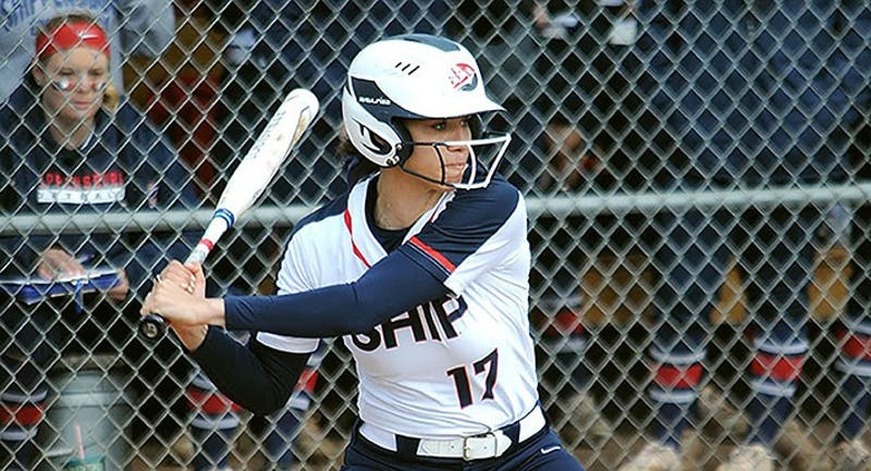Chloe Collins had the winning RBI in Game 2 for SU.