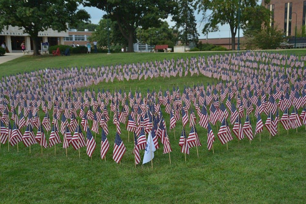SVA organizes campus 9/11 memorial