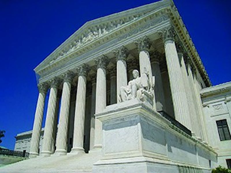 Congress decides the number of justices the Supreme Court has. After several changes, there have been nine since 1869.