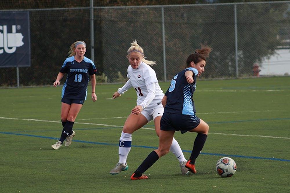 Women close out soccer season