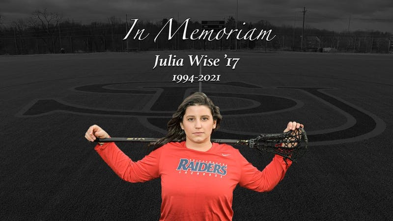 Julia Wise made 48 starts playing lacrosse for the Raiders for three seasons (2015-17), serving as a captain in her senior season.