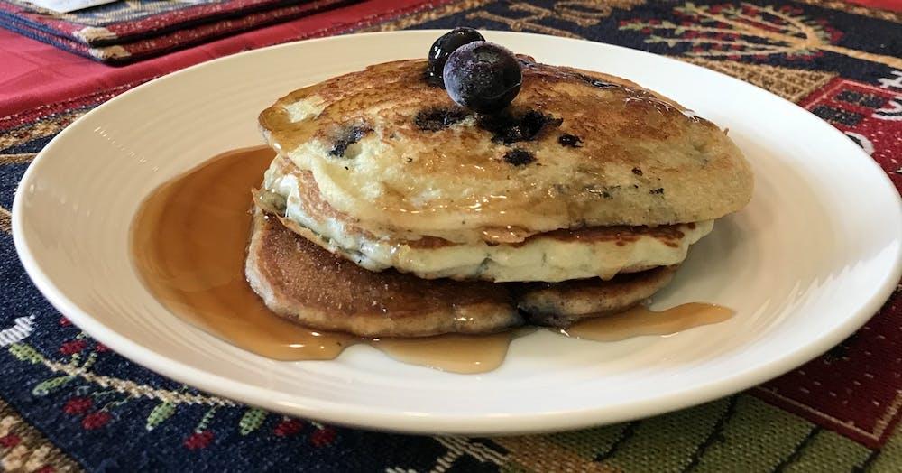 Recipe of the Week: Blueberry Lemon Pankcakes