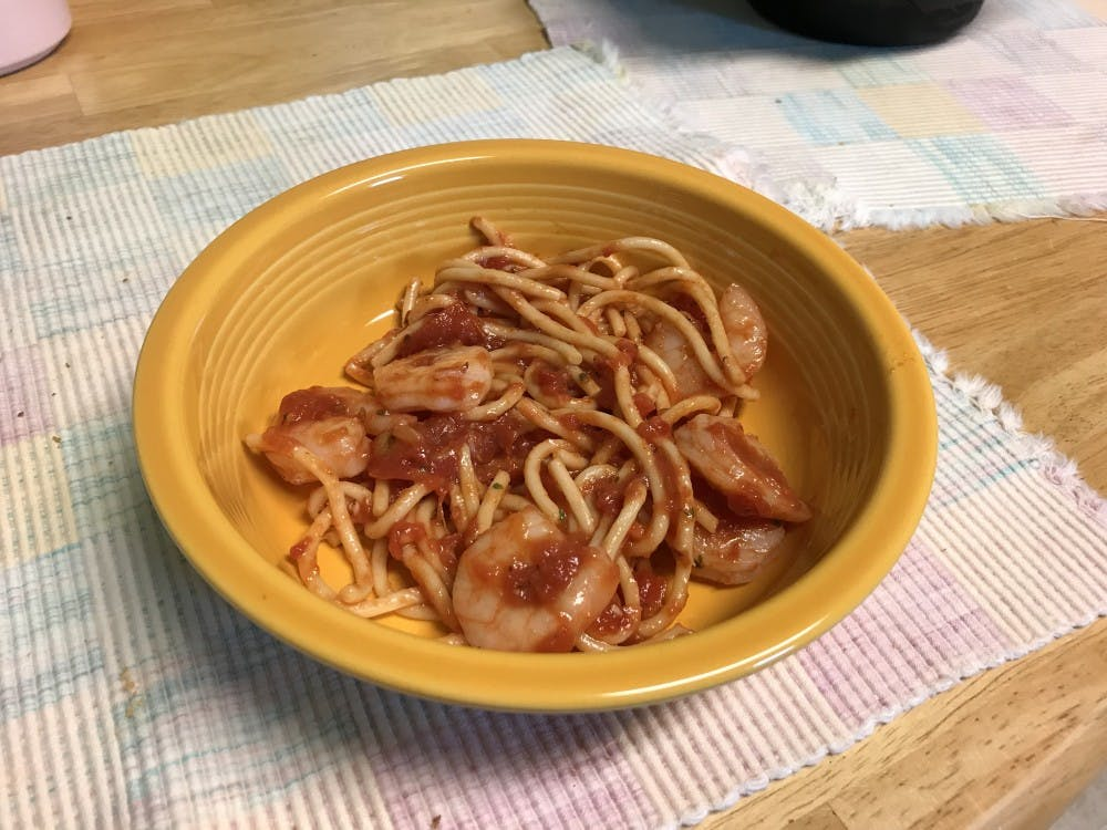 Recipe of the Week: Shrimp Spaghetti