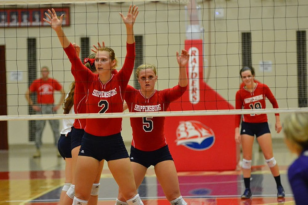 Volleyball finds success inside Heiges Field House