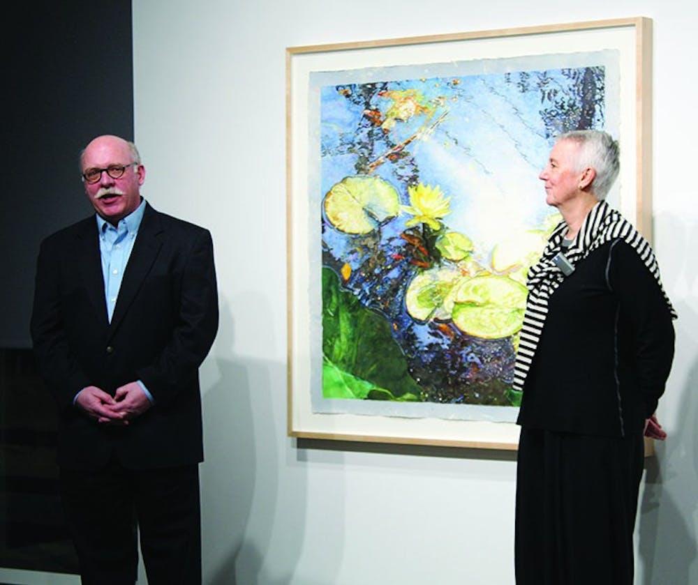 New York professional talent shines in SU Kauffman Gallery