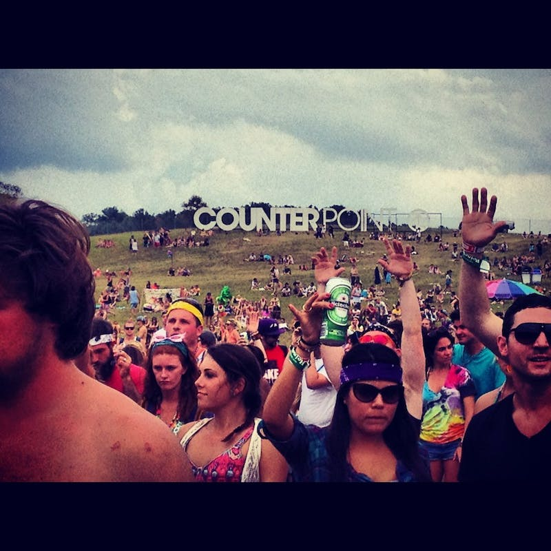 Concert goes rock-out to live music at Counterpoint Music Festival