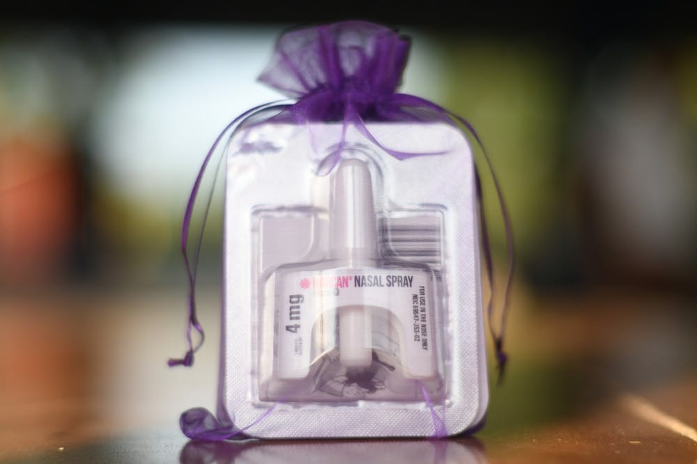 AOD provides Narcan training