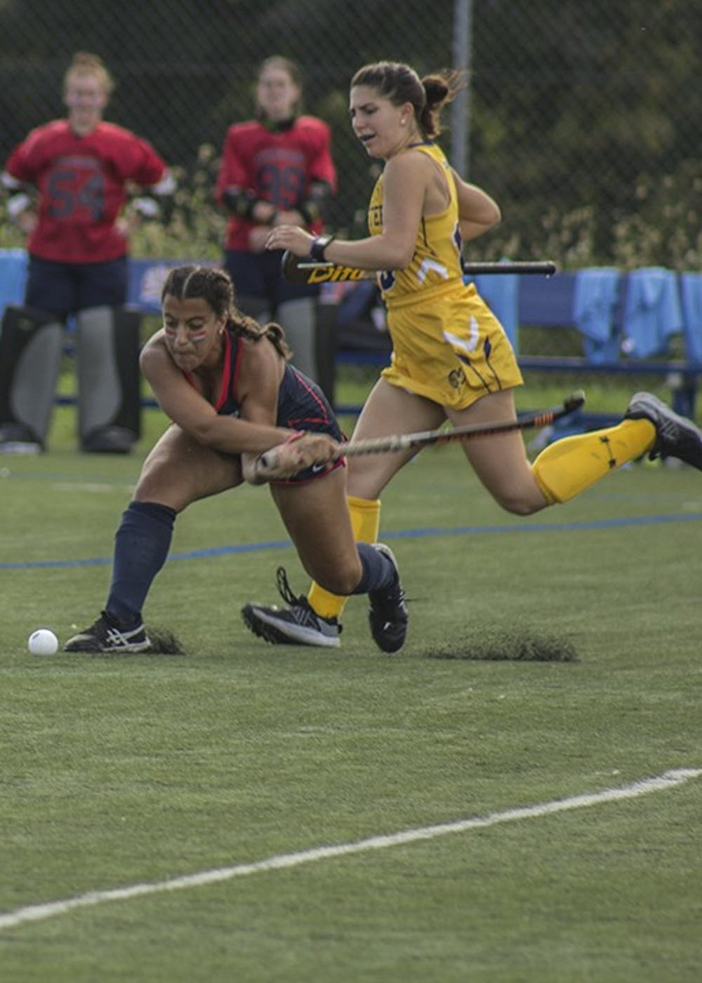 Field hockey grabs nationally ranked wins on charge toward playoffs