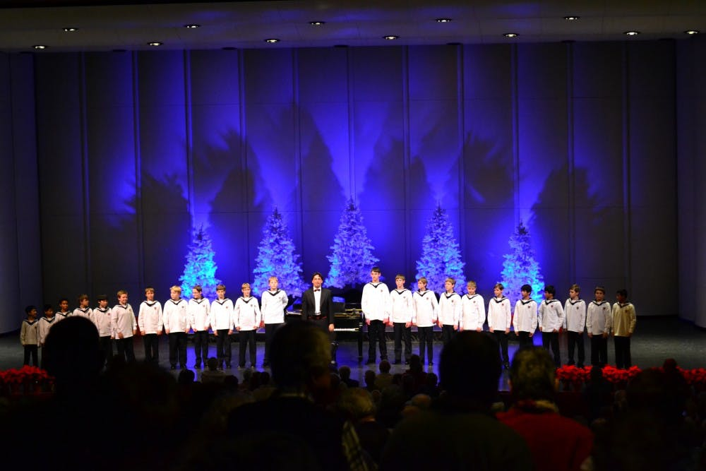 Vienna Boys' Choir performs 40th sold-out Luhrs show