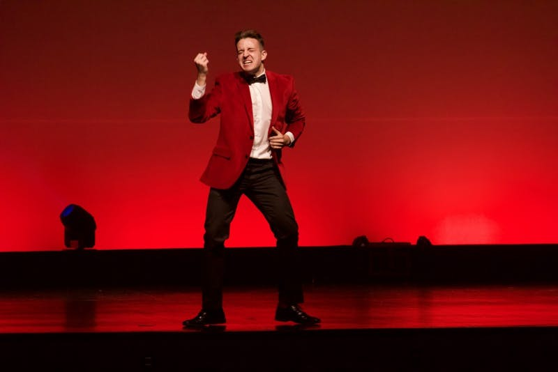 Senior Tom Fizzano performed for the last time in the lip-sync battle Thursday night after four years of thrilling the audience.
