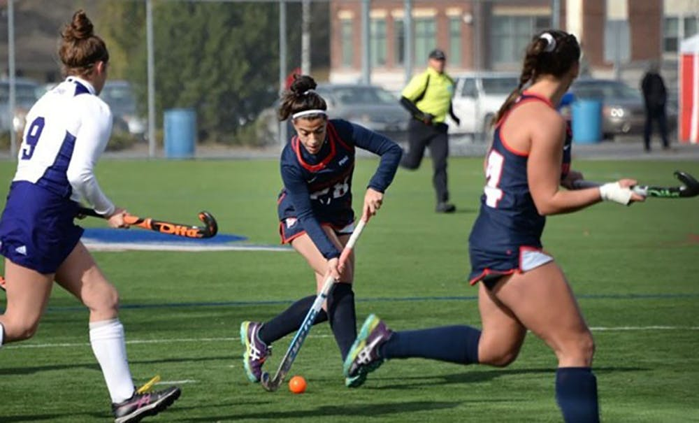 Field hockey stays perfect with wins over Southern Connecticut State and Saint Michael's