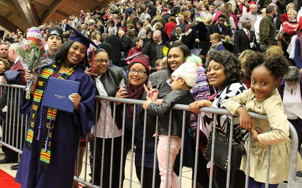 Students awarded degrees during winter commencement ceremony