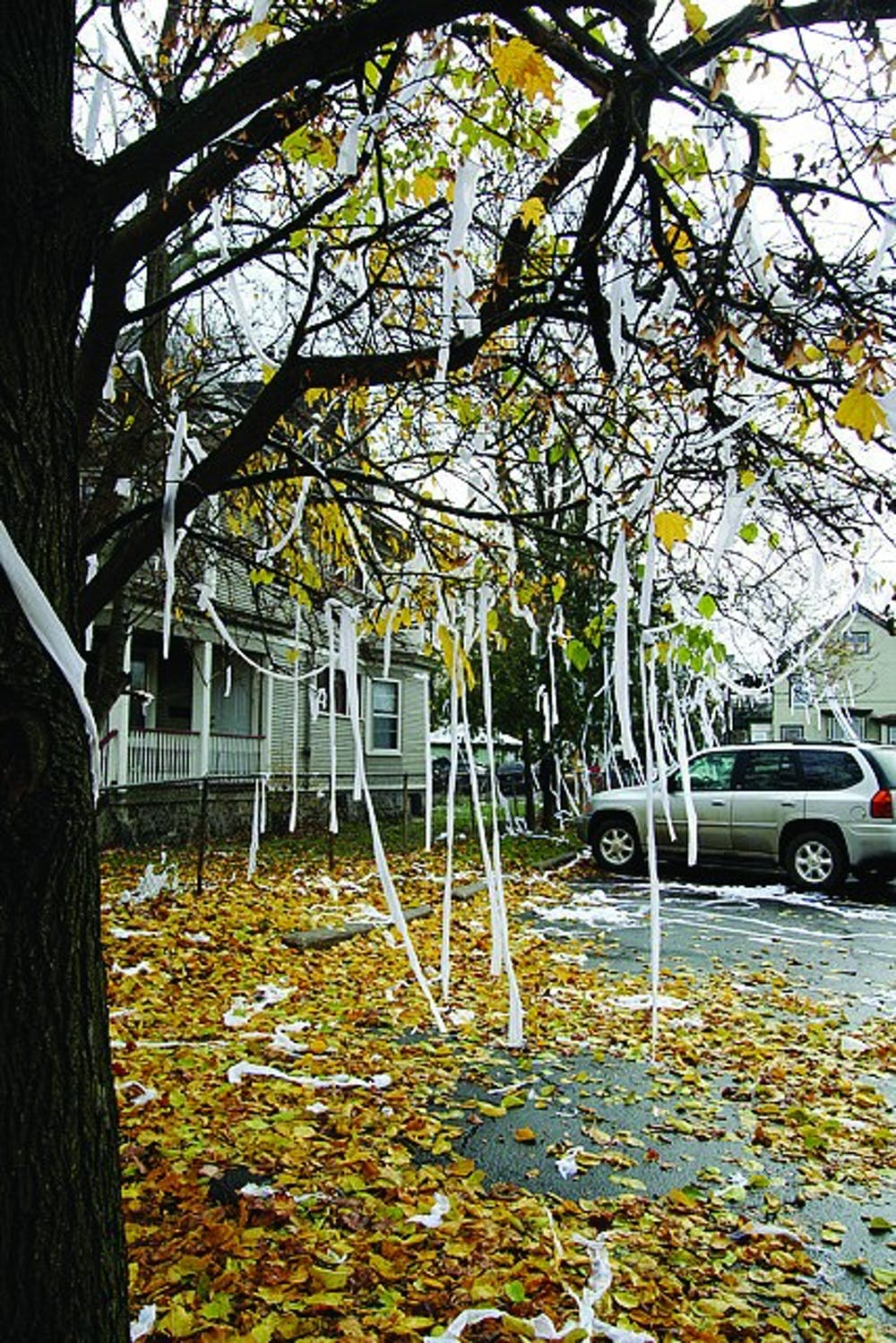 Traditional mischief night is not mean