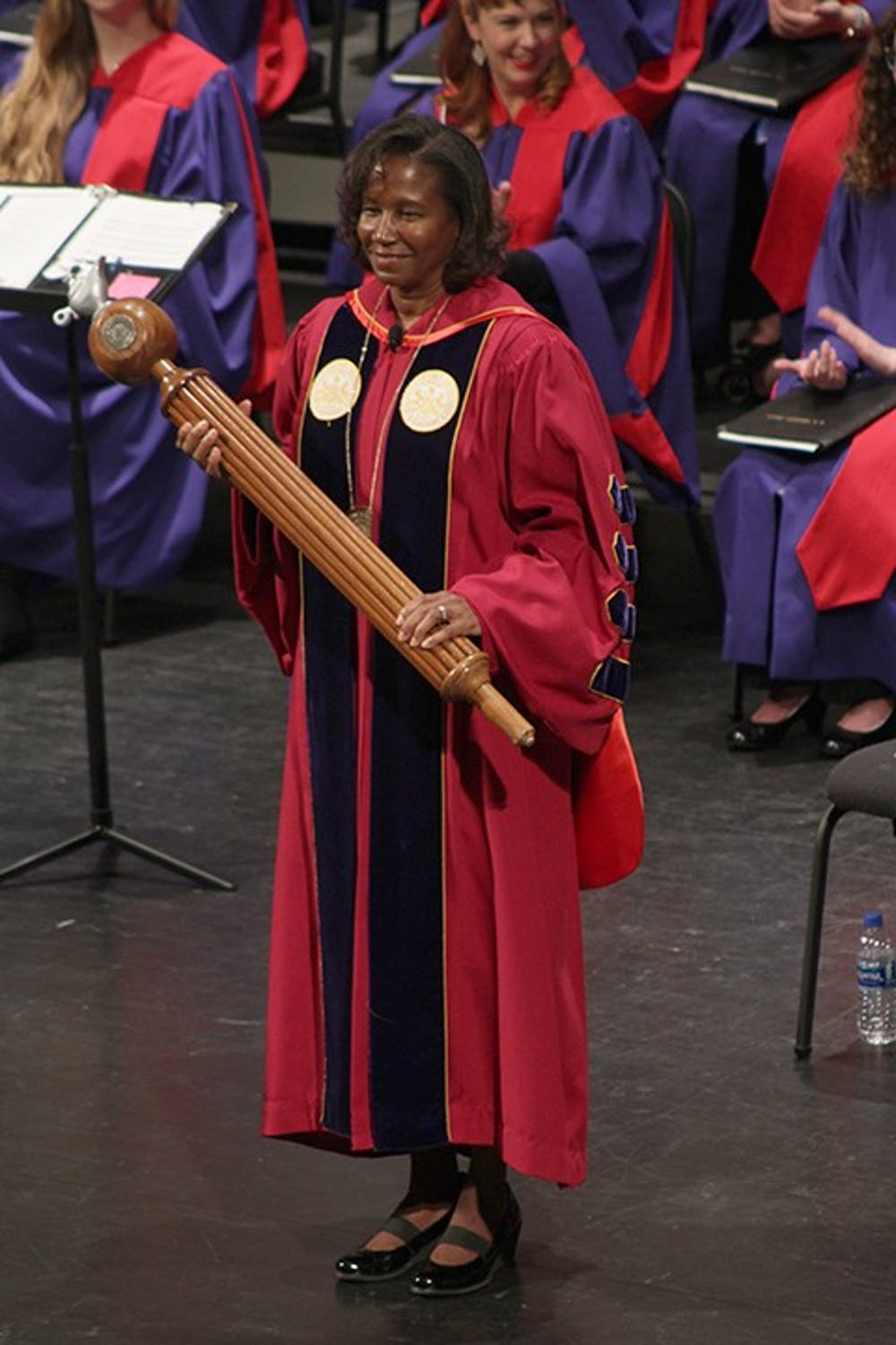 Laurie Carter inaugurated as 17th university president