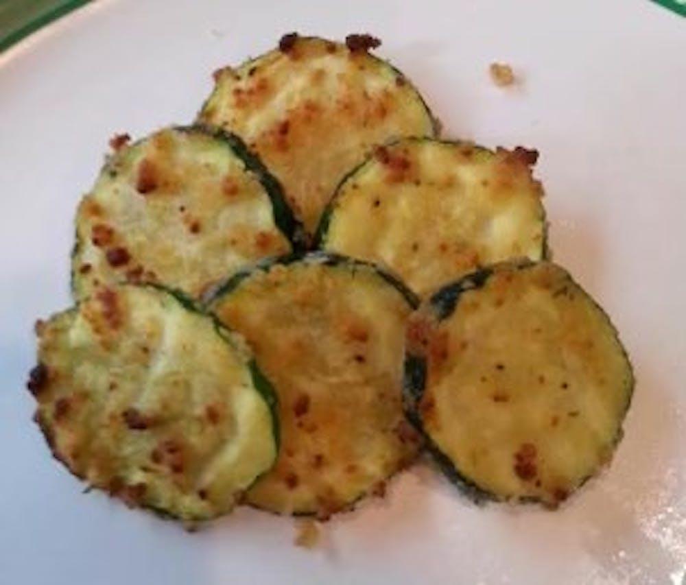Recipe of the Week:  Air Fryer Garlic Parmesan Zucchini