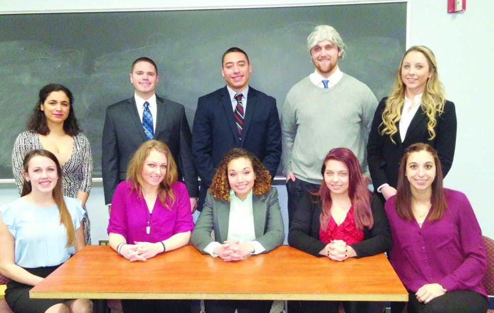 SU mock trial team competes in Washington, D.C.