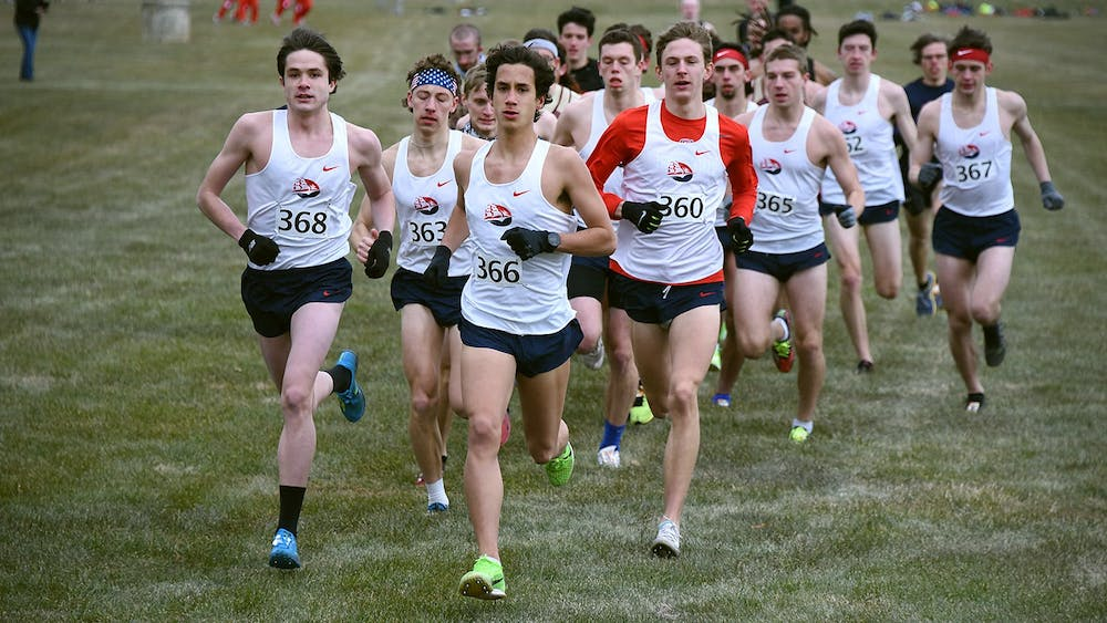 Cross-country ends season in fashion at PSAC Championships
