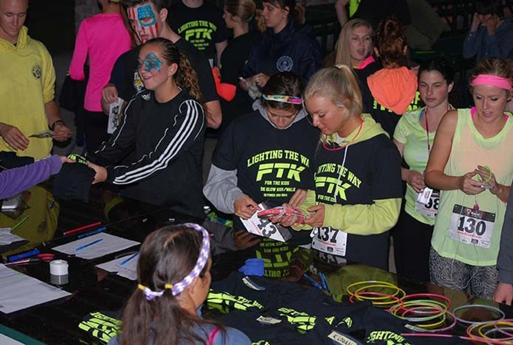 Students glow to raise money for children with cancer