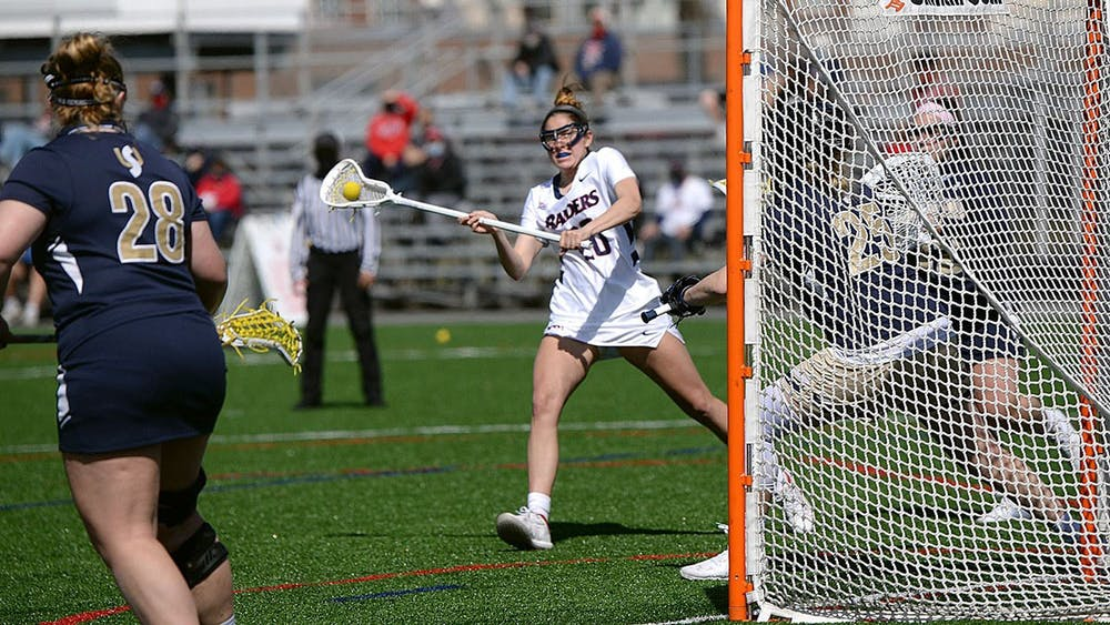 Krahl fires game-winner, lacrosse splits week 1-1