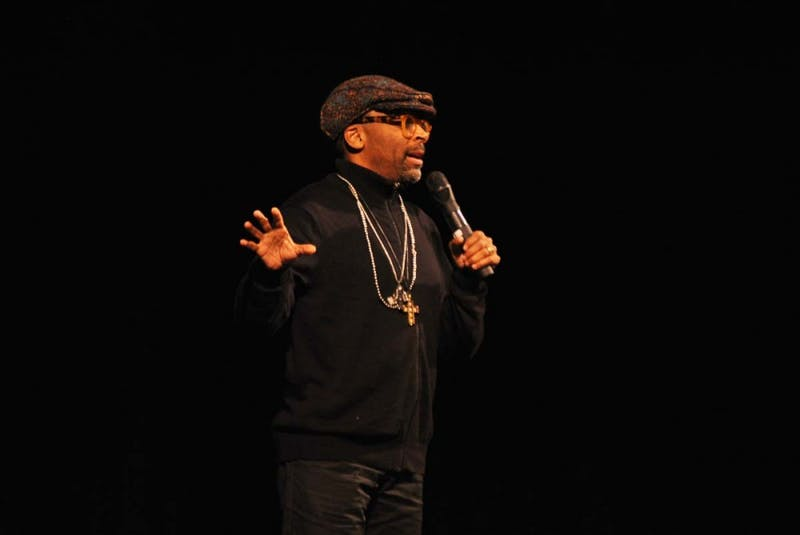 Spike Lee lectured as a part of the H.O.P.E Diversity Program at the Luhrs Center.