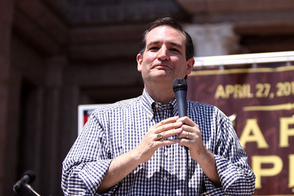 Ted Cruz's Earth gets warmer