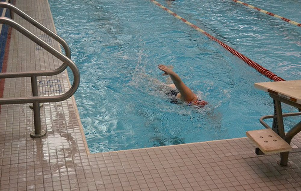 Swimming tests skills at DI-heavy Bucknell Invitational