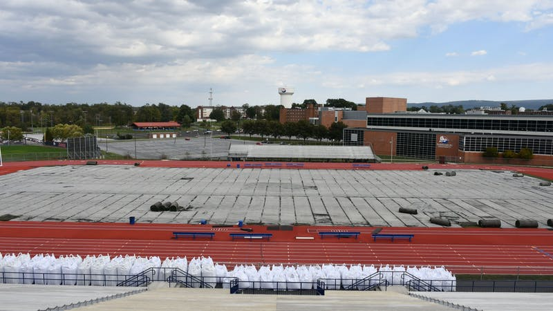 SU Association Field and David See Field are both getting new turf for the first time since 2010. They will be replaced with new Astroturf surfaces.