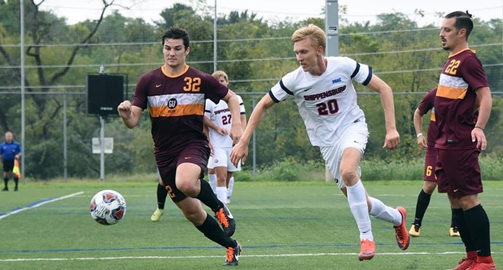 Men's soccer recovers after tough conference loss