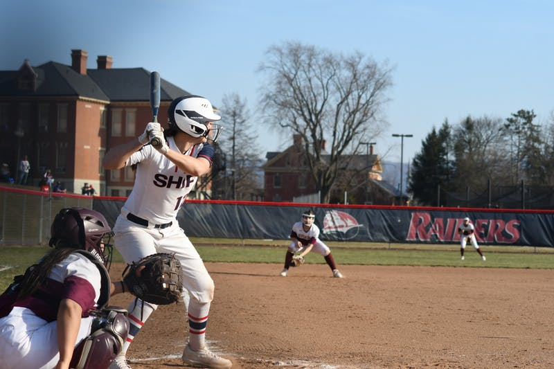 SU's Toni Jones bats Wednesday at Robb Field versus Bloomsburg University.
