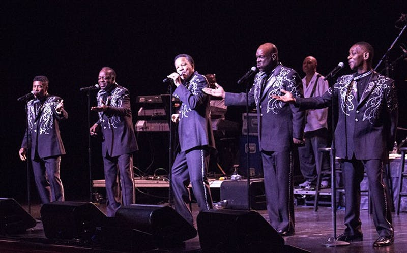 The Spinners and Little Anthony and The Imperials give the Luhrs audience an upbeat and enjoyable performance by singing their hit songs from the 1950s and 1960s with high energy and passion.