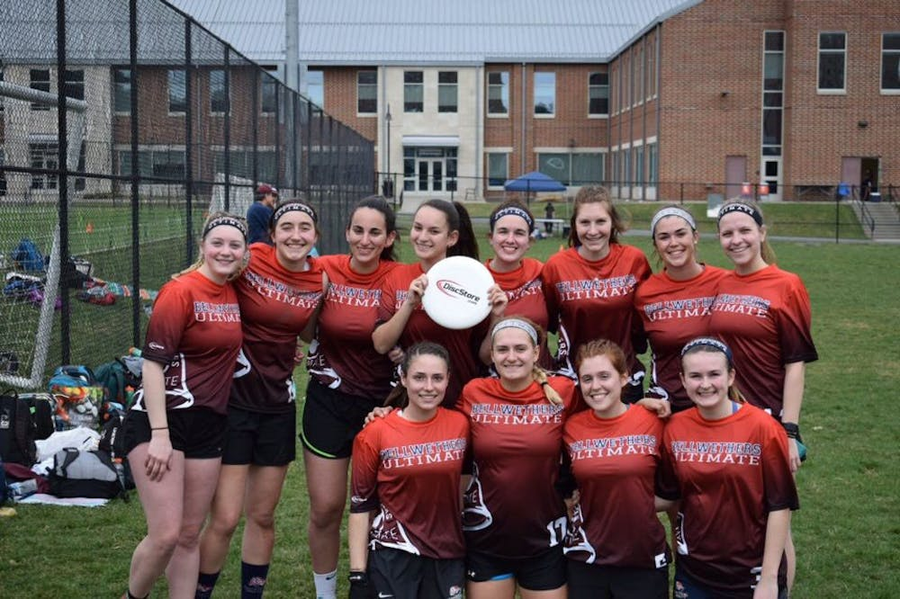 Women's ultimate club tops competition