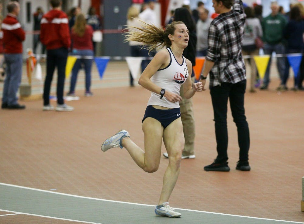Women's track and field wins seventh championship