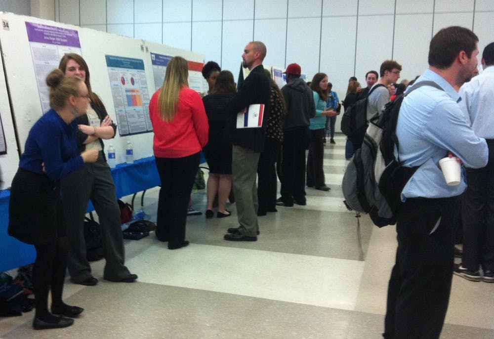 Conference draws crowd in the hundreds