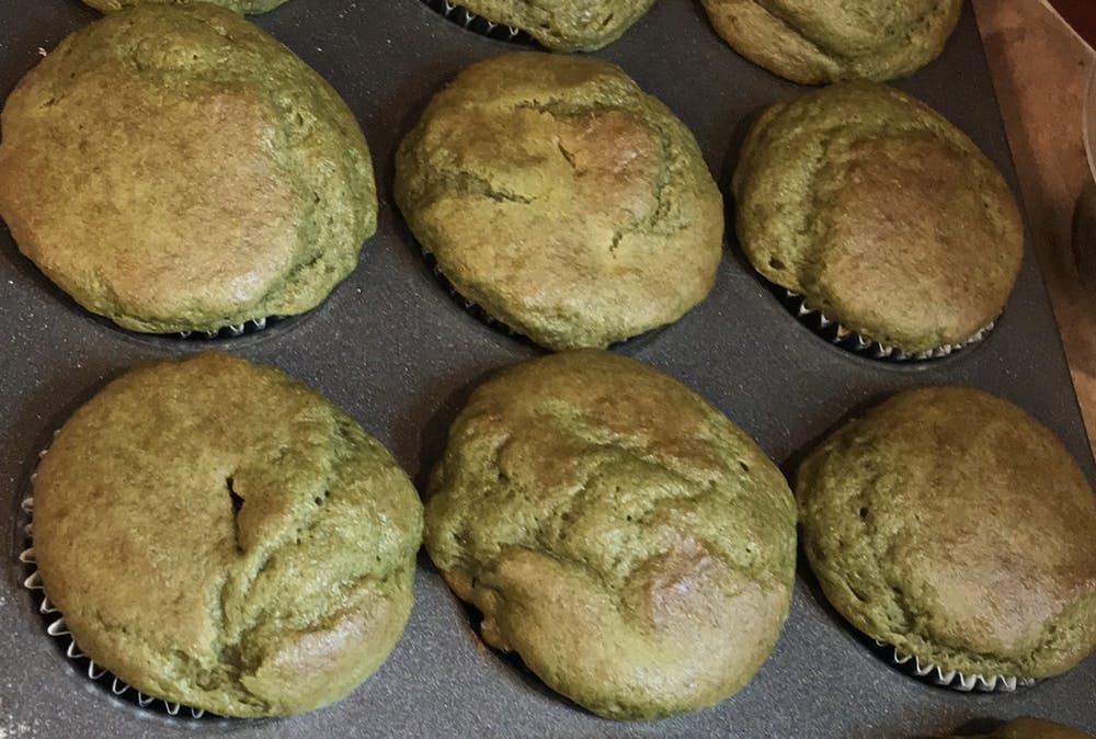 Recipe of the Week: Matcha muffins