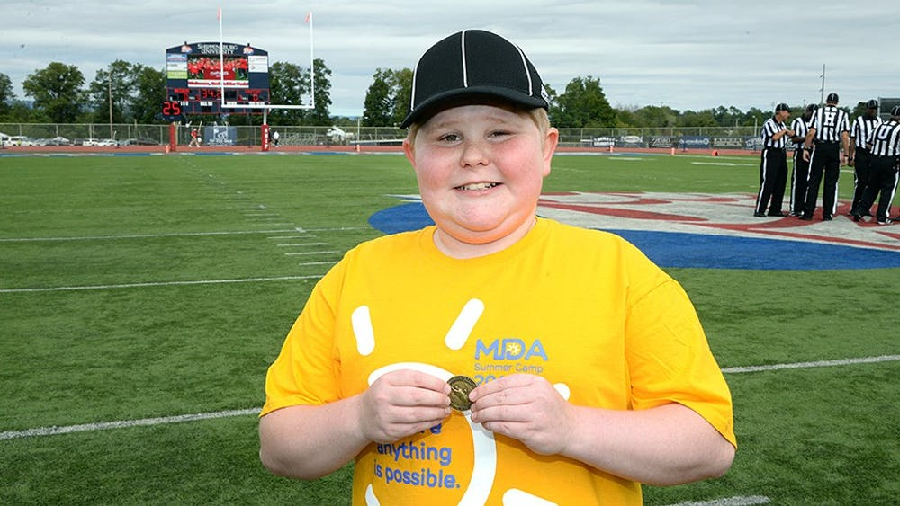 Coaches fight to cure muscular dystrophy