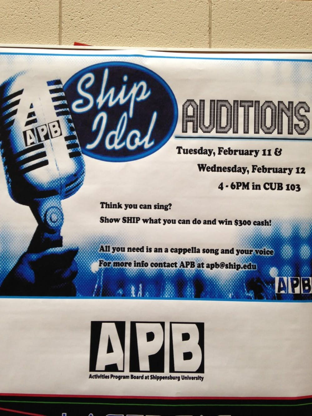 Ship Idol hosts its fourth year of auditions