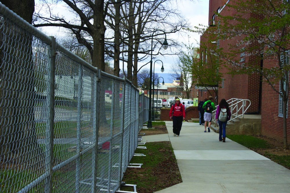 Construction project provide for campus' future