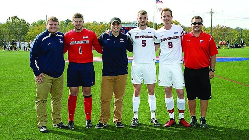Seniors honored for men's soccer