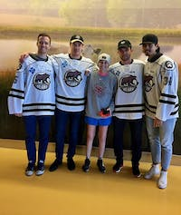 Hart believes the Bears' visit was one of the biggest motivators during her treatment and recovery process.