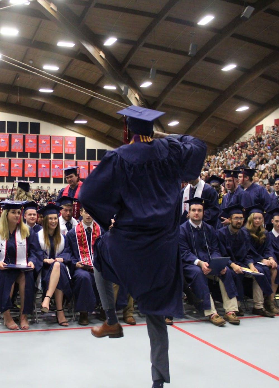Shippensburg University bids farewell to winter Class of 2018
