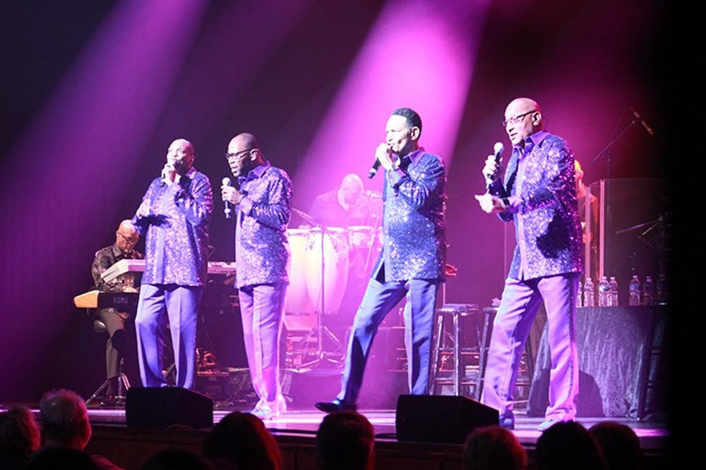 The Temptations, Four Tops relive performance memories in Luhrs