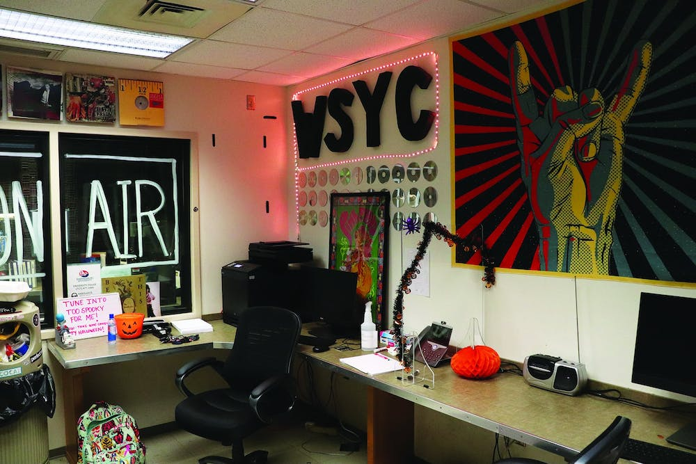 WSYC 88.7 FM hosts annual  'Too Spooky for Me' giveaway