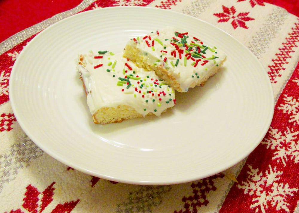 Recipe of the Week: Christmas Sugar Cookie Bars