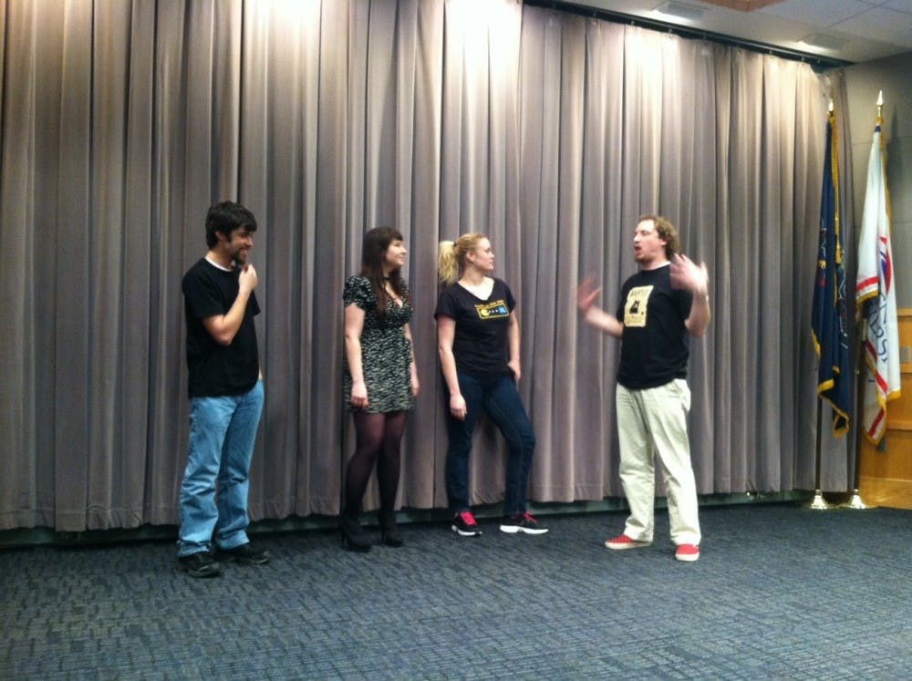 Game On: Improv's first performance a success