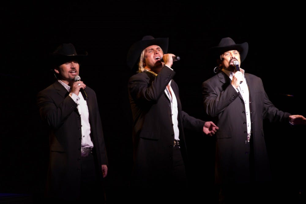 Texas Tenors trio demonstrate vocal range and public service
