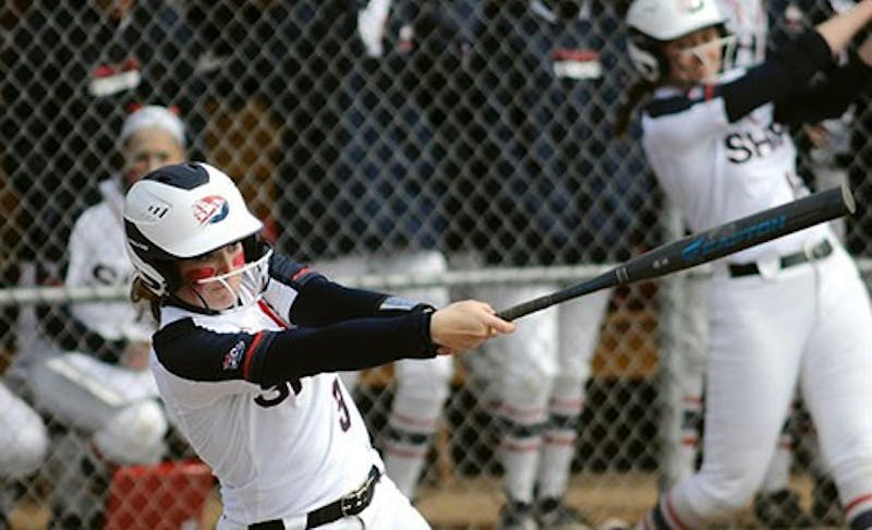 The Raiders continued their excellent hitting this season in wins against both IUP and UPJ this weekend. The team totaled a combined 24 runs on 27 hits in its Saturday doubleheader sweep of IUP. Success at the plate has played a big role in why the team is sitting in second place in its division.