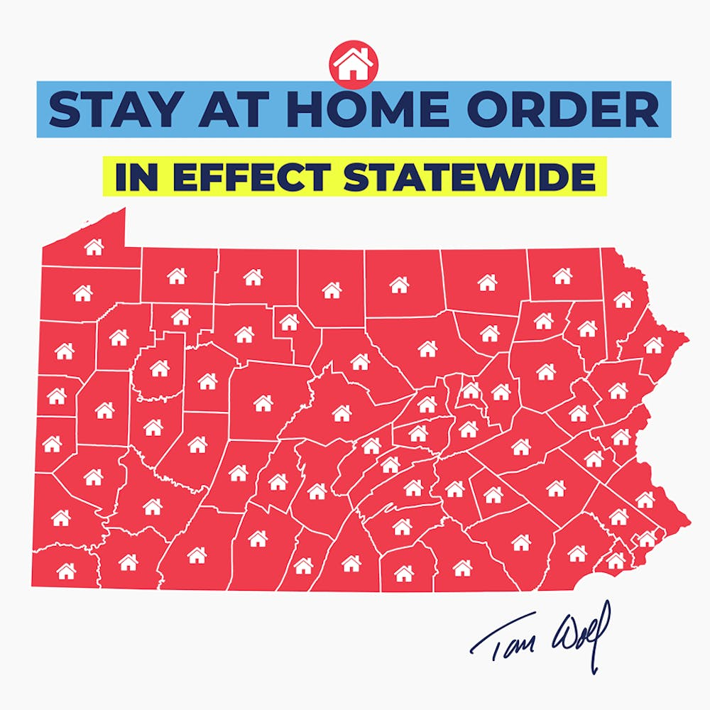 Wolf extends stay-at-home order to entirety of Pennsylvania