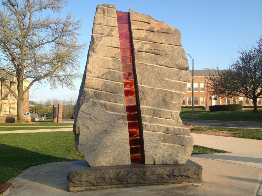 Sculptures that shape Shippensburg's campus