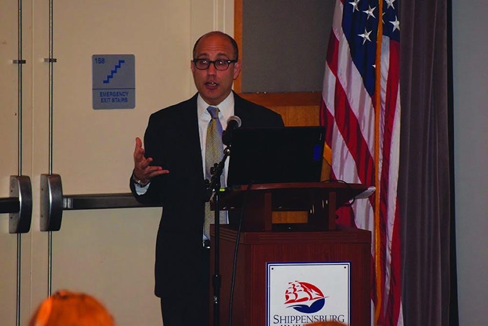 Speaker recalls historic trial